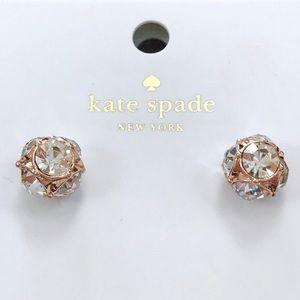 ♠️Kate Spade Rose Gold Lady Marmalade Studs